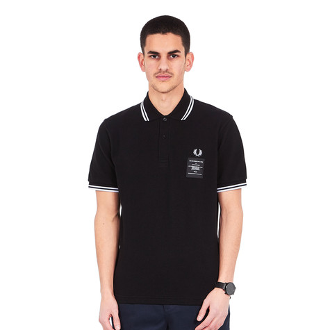 Fred Perry x Art Comes First - Printed Twin Tipped Polo Shirt