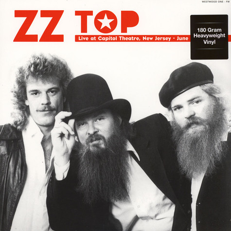 ZZ Top - Live at The Capitol Theatre New Jersey NY - June 15 1980