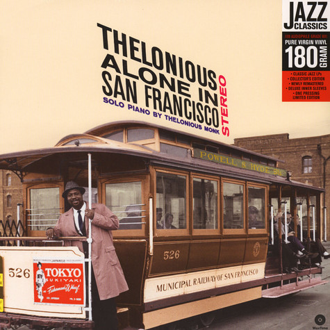 Thelonious Monk - Alone In San Francisco