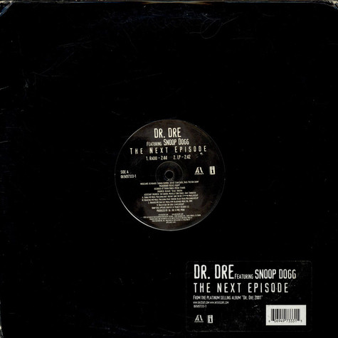 Dr. Dre Featuring Snoop Dogg - The Next Episode