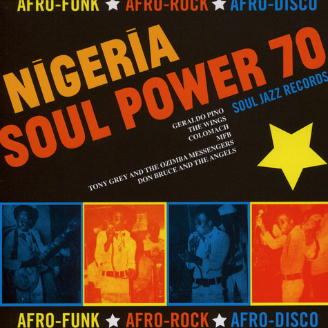 "Soul Jazz Records presents - Nigeria Soul Power 70 7"" Box Set"