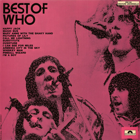 Who, The - Best Of Who