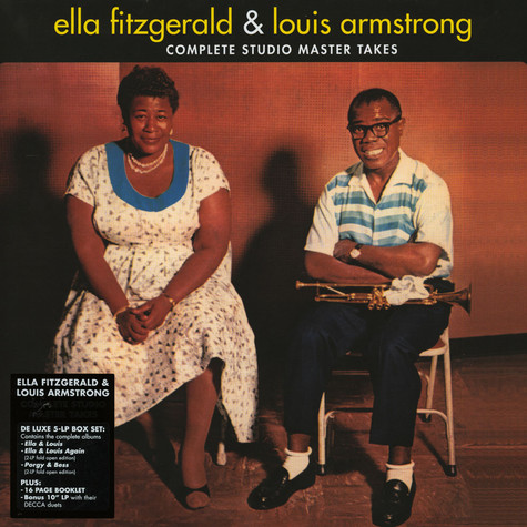 Ella Fitzgerald & Louis Armstrong - Ella & Louis - Complete Studio Master Takes