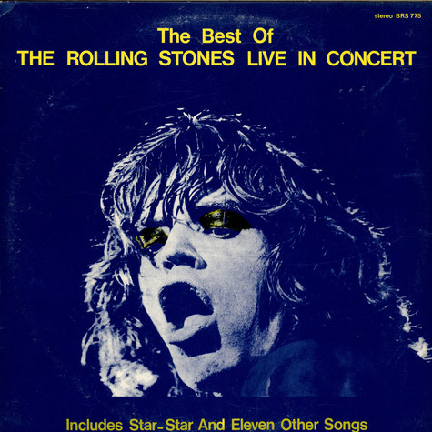 Rolling Stones, The - The Best Of The Rolling Stones Live In Concert From 1971 Through 1975