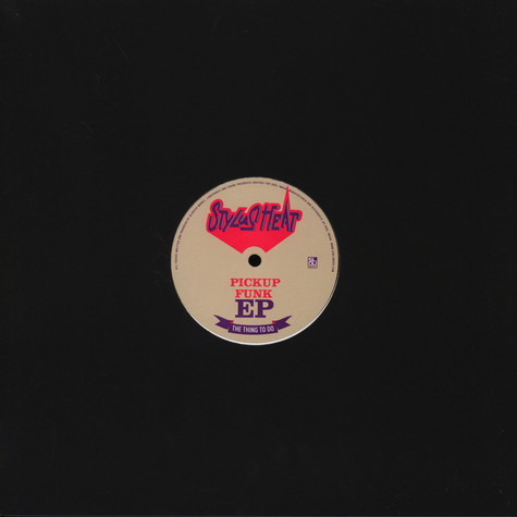Stylus Heat - The Pickup Funk EP