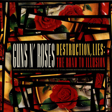 Guns N' Roses - Destruction, Lies : The Road To Illusion