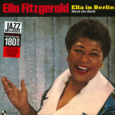 Ella Fitzgerald - Mack The Knife - Ella In Berlin