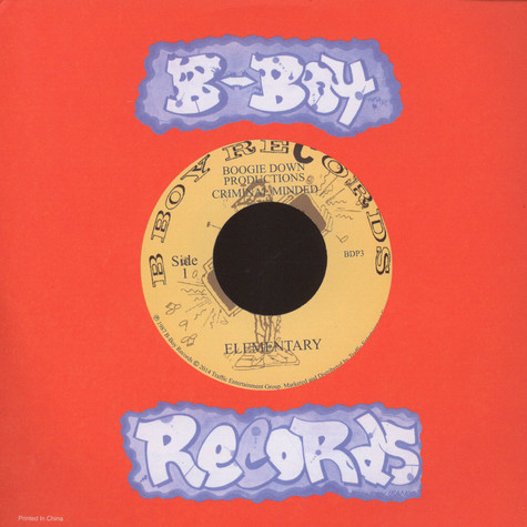 Boogie Down Productions - Elementary / Dope Beat