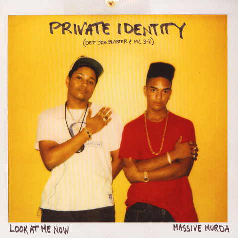 Private Identity - Look At Me Now / Massive Murda Yellow Vinyl Edition