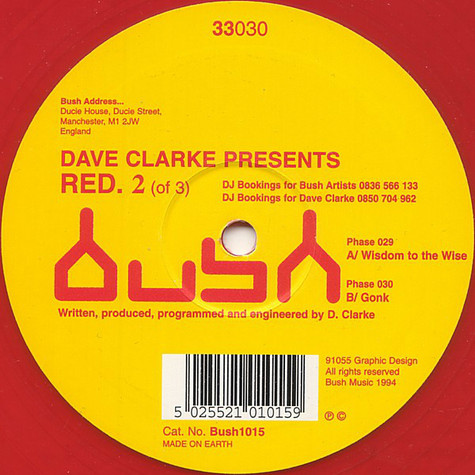Dave Clarke - Red. 2 (Of 3)
