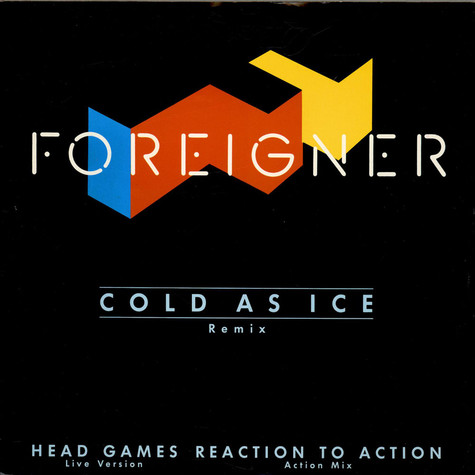 Foreigner - Cold As Ice (Remix)