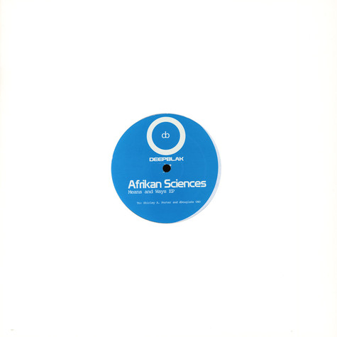 Afrikan Sciences - Means And Ways EP