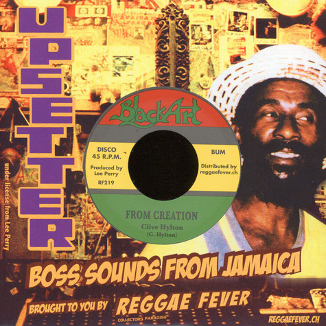 Clive Hylton / The Upsetters - From Creation / Creation Dub