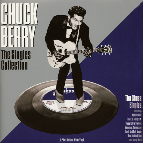 Chuck Berry - The Singles Collection White Vinyl Edition