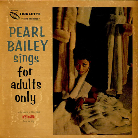 Pearl Bailey - Pearl Bailey Sings For Adults Only