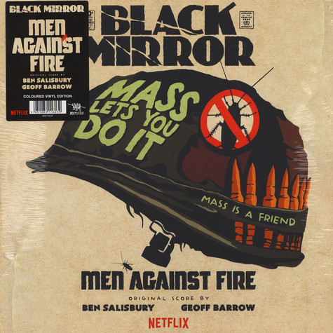 Ben Salisbury & Geoff Barrow - OST Black Mirror: Men Against Fire Green Vinyl Edition