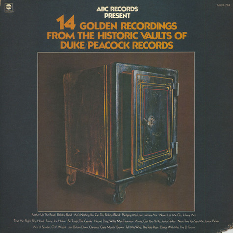 V.A. - 14 Golden Recordings From The Historic Vaults Of Duke/Peacock Records