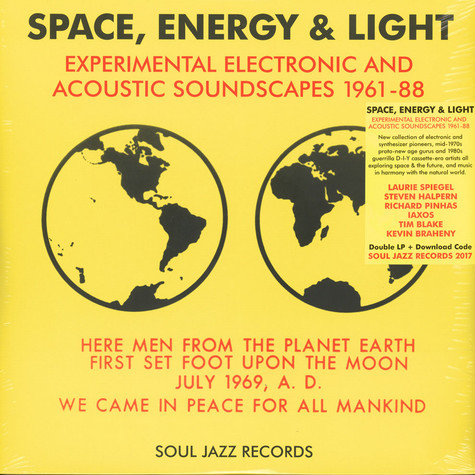 Soul Jazz Records presents - Space, Energy & Light: Experimental Electronic And Acoustic Soundscapes 1961-88