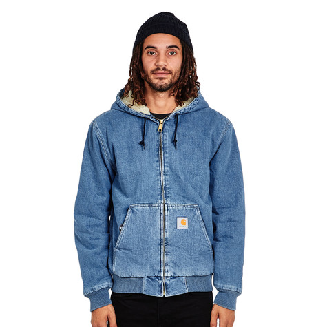"Carhartt WIP - Active Jacket ""Edgewood"" Blue Denim, 12 oz"