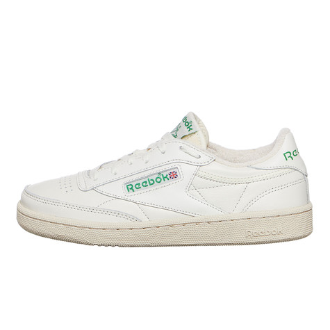 b0830d7b4ba166 Reebok - Club C 85 (Chalk   Green   White   Red)
