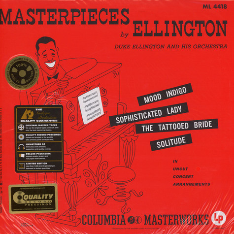 Duke Ellington - Mysterpieces By Ellington 45RPM, 200g Vinyl Edition