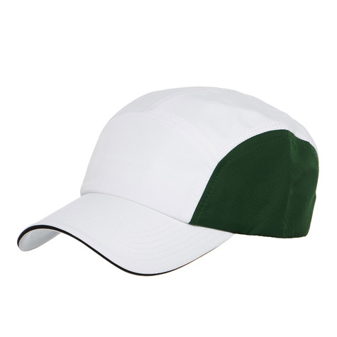 5eb13ac788e Lacoste - 5-Panel Cap (White   Ocean   Green   Black)