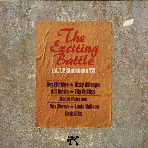 V.A. - The Exciting Battle J.A.T.P. Stockholm '55