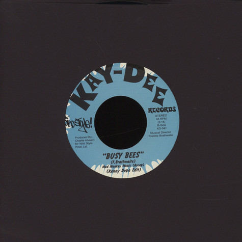 Kenny Dope - Wildstyle Breakbeats: Military Cut / Busy Bees
