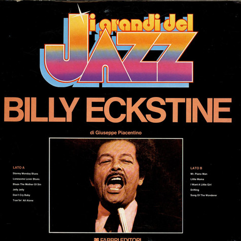 Billy Eckstine - I Grandi Del Jazz