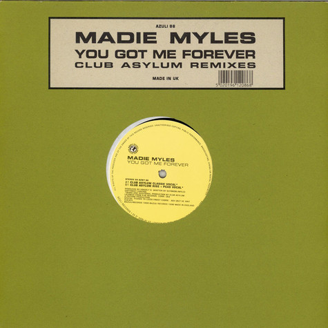 Madie Myles - You Got Me Forever (Club Asylum Remixes)