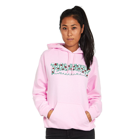 Thrasher - Women s Roses Pullover Hoodie (Light Pink)  8dffb11a65