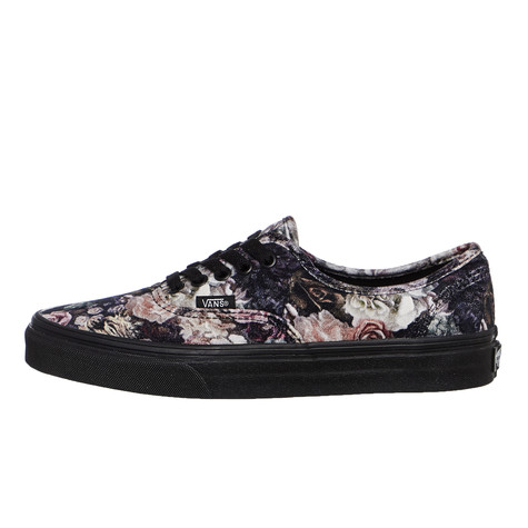 8be1e27177 Vans - UA Authentic (Floral   Black)