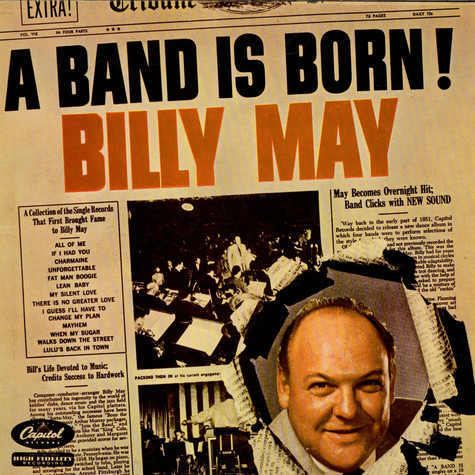Billy May - A Band Is Born