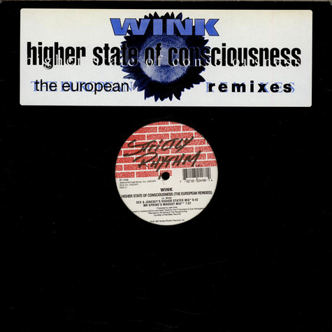 Josh Wink - Higher State Of Consciousness (The European Remixes)