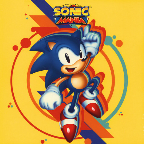 Tee Lopes - OST Sonic Mania Sonic Colored Vinyl Edition