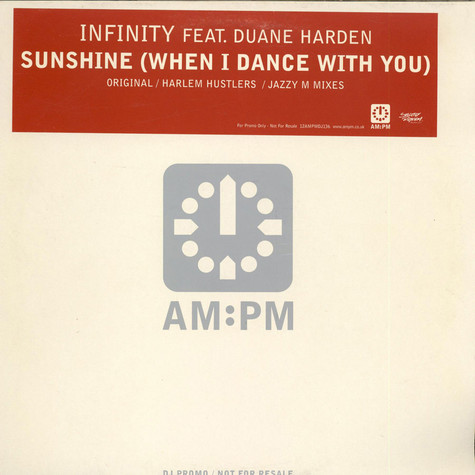 Infinity - Sunshine (When I Dance With You)