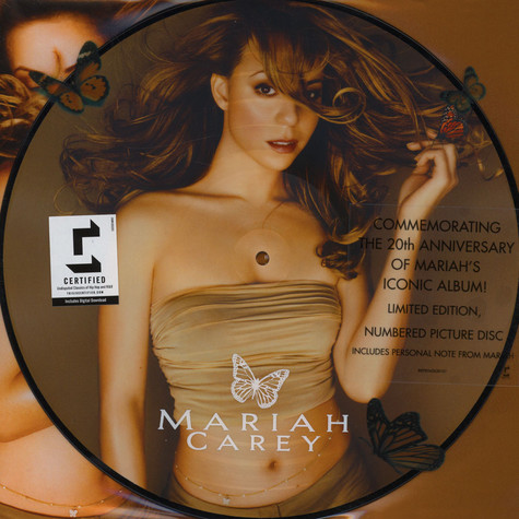 Mariah Carey  - Butterfly Picture Disc Edition
