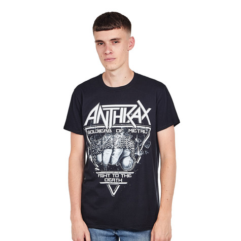 Anthrax - Soldier Of Metal T-Shirt