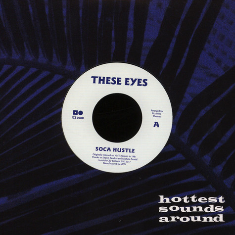 These Eyes - Soca Hustle / Let Me Love