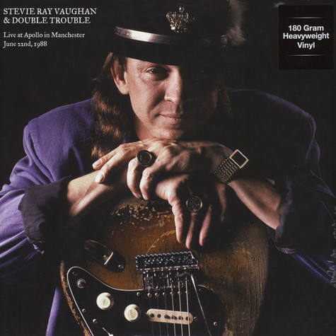 Stevie Ray Vaughan & Double Trouble - Live at Apollo in Manchester June 22nd 1988