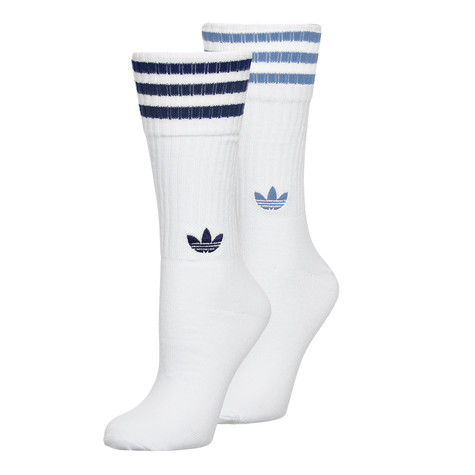 adidas - Solid Crew Socks (Pack of 2)