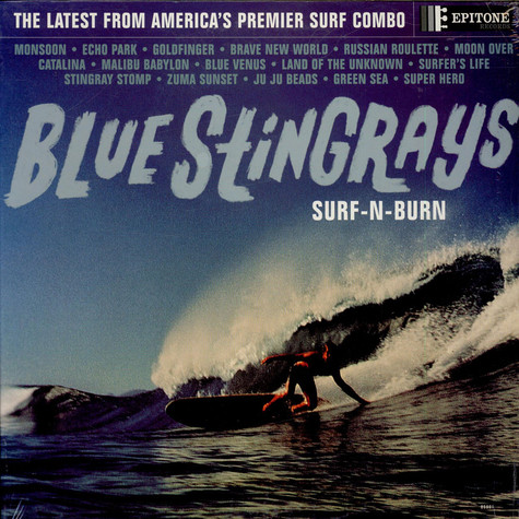 Blue Stingrays - Surf-N-Burn