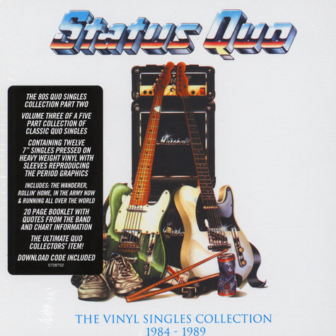 Status Quo - The Vinyl Singles Collection 1984-1989 Box