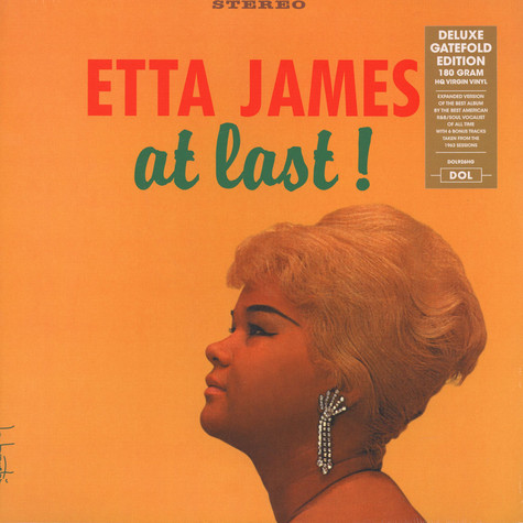 Etta James - At Last! Gatefold Sleeve Edition