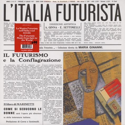 F.T. Marinetti - Futurism On The Gramophone