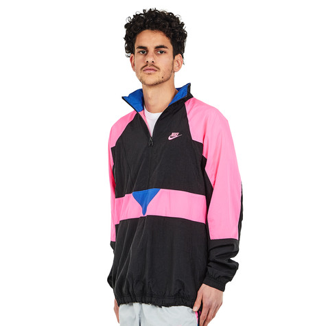 0f7de14dfc7514 Nike - NSW Woven VW Jacket (Black   Hyper Pink   Hyper Royal   Hyper ...