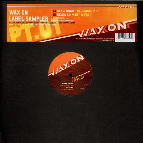 V.A. - Wax On Label Sampler