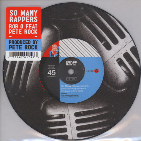 Rob O & Pete Rock - So Many Rappers Picture Disc Edition