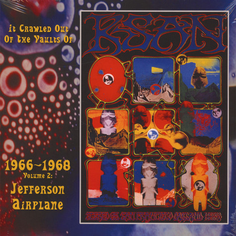 Jefferson Airplane - It Crawled Out Of The Vaults Of KSAN 1966-1968 - Volume 2: Live At The Fillmore Auditorium 1966 & 67