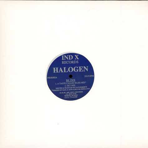 Halogen - Bliss